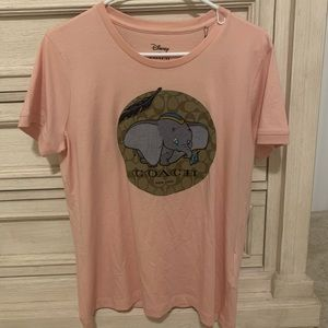 coach&disney limited T shirt